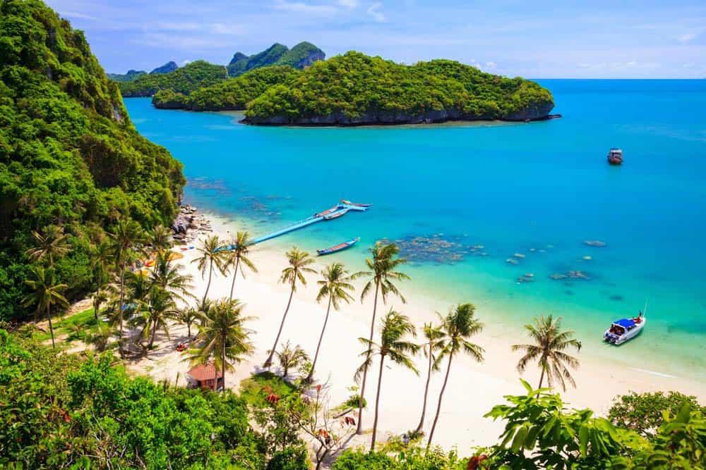 Đảo Koh Samui - xứ sở của dừa